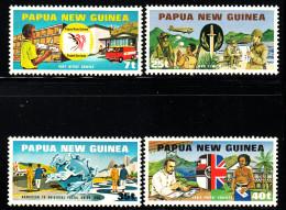 Papua New Guinea MNH Scott #512-#515 Set Of 4 UPU Membership - Papouasie-Nouvelle-Guinée