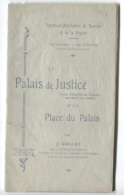 RENNES - PALAIS DE JUSTICE - MONOGRAPHIE - J.GUILLET - Edition Syndicat D'initiative - Bretagne