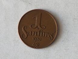 Lettonie 1 Santimi 1932 - Latvia