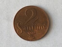 Lettonie 2 Santimi 1932 - Latvia