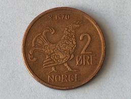 NORVEGE 2 ORE 1970 - Norvège