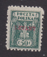 Poland, Scott #2K7, Mint Hinged, Eagle And Fasces Overprinted, Issued 1919 - Levant (Turquía)