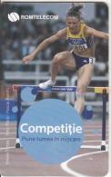 ROMANIA(chip) - Romanian Olympic Team/Ionela Tarlea, Chip GEM3.3, Exp.date 01/01/10, Used - Sport
