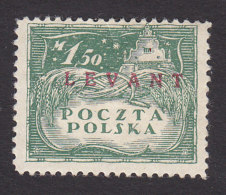 Poland, Scott #2K9, Mint Hinged, Agriculture Overprinted, Issued 1919 - Levant (Turkey)
