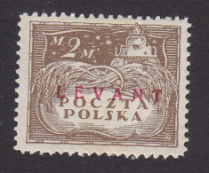 Poland, Scott #2K10, Mint Hinged, Agriculture Overprinted, Issued 1919 - Levant (Turquía)