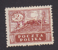 Poland, Scott #2K11, Mint Hinged, Peace Overprinted, Issued 1919 - Levant (Turquía)