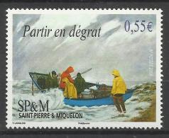 ST.PIERRE & MIQUELON 2008,PAINTING,BOAT MNH - Neufs