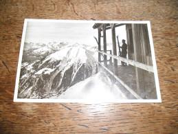 CPSM De Chamonix - Chalet-Station Des Glaciers - L´Aiguille Du Midi - Chamonix-Mont-Blanc