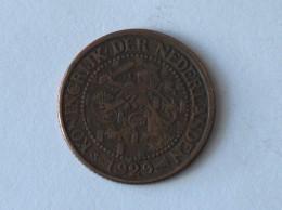 PAYS BAS 2 1/2  CENT 1929 - 2 1/2 Gulden