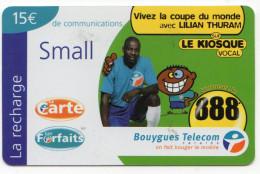 ANTILLES FRANCAISES RECHARGE BOUYGUES TELECOM LE KIOSQUE SMALL 15€ Date 03/2002 - Antilles (Françaises)