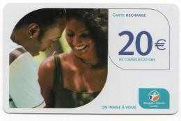 ANTILLES FRANCAISES RECHARGE BOUYGUES TELECOM  20€ Date 11/2005 - Antilles (French)