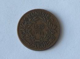 TUNISIE Bon Pour 1 Franc 1926 - Tunisie
