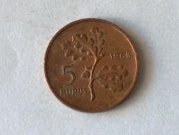 TURQUIE 5 KURUS 1968 - Turquie