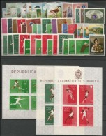 SAN MARINO - 1960 - Annata Completa - 47 Valori + 3 BF - Year Complete ** MNH/VF - Años Completos