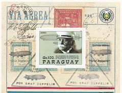 Paraguay Block Zepplin 1988 - Paraguay