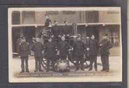 Birmingham Fire Brigade Series, Bordesley Grenn District  Station ,  Engine No 6 + Crew + Officers + Trophies