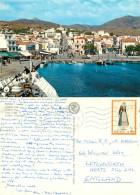 Tinos, Greece Postcard Posted 1975 Stamp - Greece