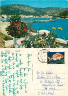 Gaios, Paxos, Greece Postcard Posted 1982 Stamp - Greece