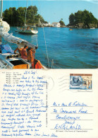 Parga, Greece Postcard Posted 1987 Stamp - Greece