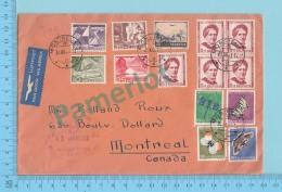 1952-SWITZERLAND SUISSE PRO JUVENTUTE 1951 PAPILLON BUTTERFLIES  - 14 Stamps - 2 Scans - Pro Juventute