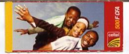 "@+ Niger - Carte Prépayée Celtel -  500 FCFA - Verso ""carte 10"""
