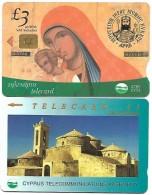 @+ Chypre - Lot De 2 Télécartes - Chypre