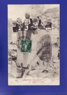 NANTES  Char Publicitaire Legumes Au Naturel Demieux   Mi-carème 1912  (TTB état ) W 517 ) - Publicité