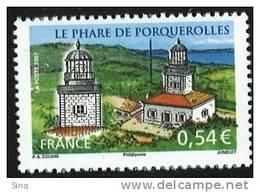N °4116 Phare De Porquerolles, Issu Du Bloc, Faciale 0,54 € - Neufs