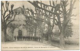 CLUNY - Ecole Nationale Des Arts Et Métiers - Cours De Récréation (2° Division) - Cluny