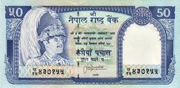 NEPAL 50 RUPEE BANKNOTE KING BIRENDRA 1997 PICK-33 UNC - Nepal