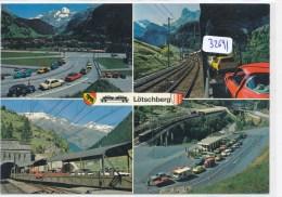 CPM GF - 32691- Suisse - Kandersteg-Goppenstein - Multivues Autoverlad Lötschberg - BE Berne
