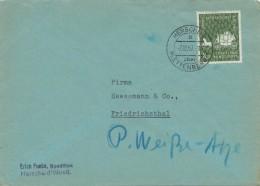 LETTERA   DA   HERSCHEID  PER  FRIEDRICHSTHAL    (VIAGGIATA) - [7] République Fédérale