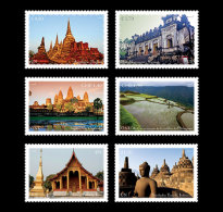 United Nations 2015 Set - 2015 World Heritage – South East Asia (3 Offices)
