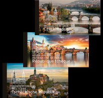 United Nations 2016 Stamp Booklet - 2016 World Heritage - Czech Republic (3 Offices)