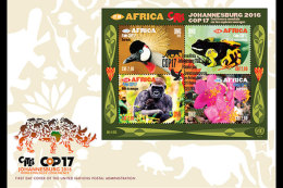 United Nations 2016 First Day Cover - COP17 Eye On Africa (Geneva)