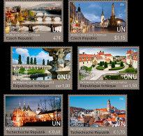 United Nations 2016 Set - World Heritage - Czech Republic (3 Offices) (Set Mint)