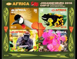 United Nations 2016 Miniature Sheet - COP17 Eye On Africa (Geneva)