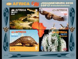 United Nations 2016 Miniature Sheet - COP17 Eye On Africa (Vienna)