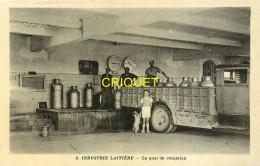 17 Nieul St Georges Des Coteaux, La Laiterie, Quai De Réception, Animée, Vieux Camion, Bidons De Lait.... - France