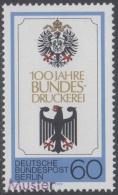 Specimen, Germany Sc9N426 German National Printing Bureau Centenary, German Eagles, Blason