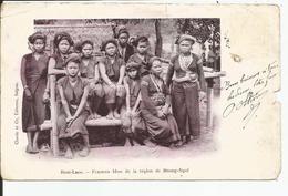 HAUT LAOS   Femmes KHAS  De La Region De MUONG-NGOÏ  Ed: CLAUDE    ETAT !!! - Laos