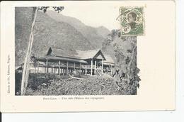 HAUT LAOS      Une SALA ( Maison Des Voyageurs )  Ed: CLAUDE - Laos