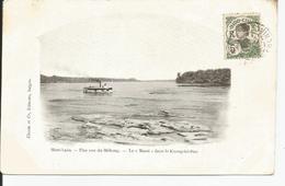 HAUT LAOS      Une Vue Du Mekong ;le MASSI           Ed: CLAUDE - Laos