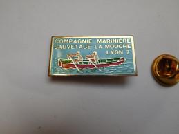 Marine Bateau , Compagnie Mariniére Sauvetage La Mouche  , Lyon 7e , Rhône - Bateaux