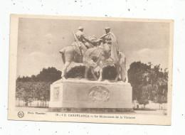 Cp , Militaria , MAROC , CASABLANCA , Le Monument De La Victoire , Vierge , Photo: Flandrin - War Memorials