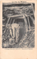 ¤¤  -   La Vie Du Mineur  -  15  -  Sautage D'une Mine à L'Electricité    -  Mine     -  ¤¤ - Mines