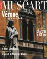 Muséart N°43, Septembre 1994 ( Vérone, Chartres , Mont Saint-Michel, Bruges ... ) - Art