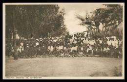 AFRICA - TANZANIA - TANGANICA - Open-air Meeting In Out-station   Carte Postale - Tanzania