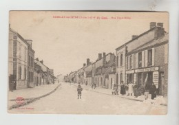 CPA ROMILLY SUR SEINE (Aube) - Rue Henri Miller - Romilly-sur-Seine