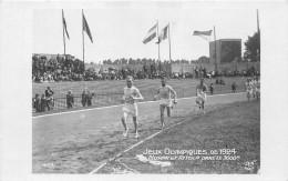 ¤¤   -  Carte-Photo  - PARIS   -  Jeux Olympiques De 1924  -  Athlétisme  -  NURMI Et RITOLA Dans Le 3000 M   -  ¤¤ - Leichtathletik